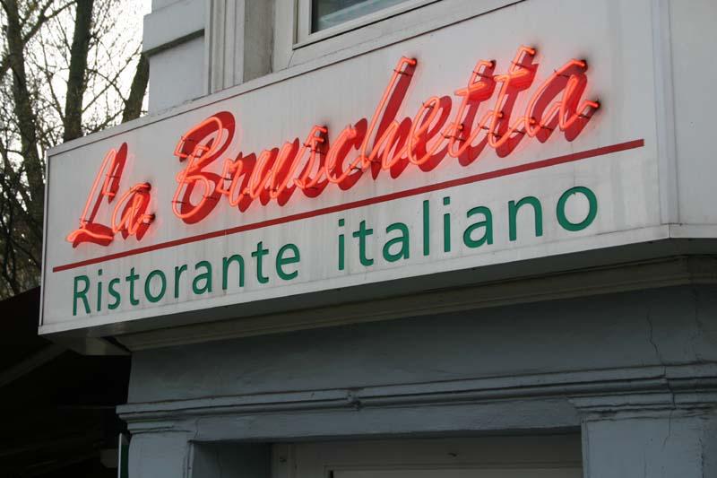 la bruschetta, italienisches resaturant in Hamburg Winterhude Empfehlung